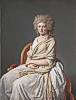 Jacques-Louis David (1748 - 1825) Anne-Marie-Louise Th�lusson, Comtesse de Sorcy 1790
