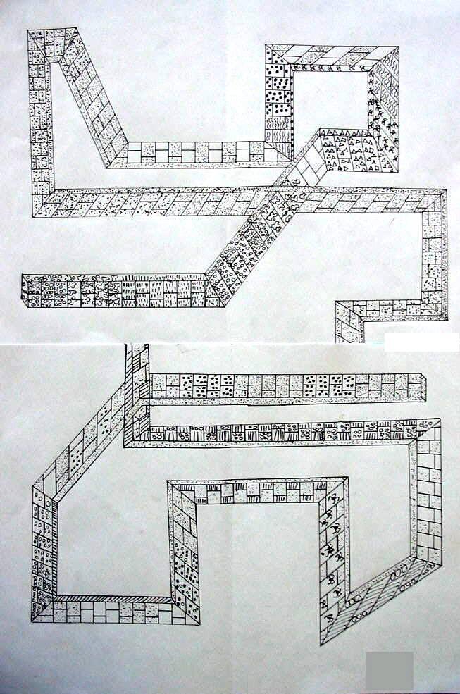 Grundriss Zeichnen Unterricht : Bild Burg11jpg